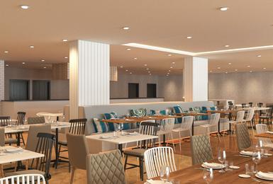 Restaurant (Render 2019) Hôtel AluaSun Torrenova Palmanova, Mallorca