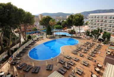 Extérieur Hôtel AluaSun Torrenova Palmanova, Mallorca