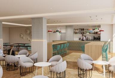 Bar 2019 (Render) Hôtel AluaSun Torrenova Palmanova, Mallorca
